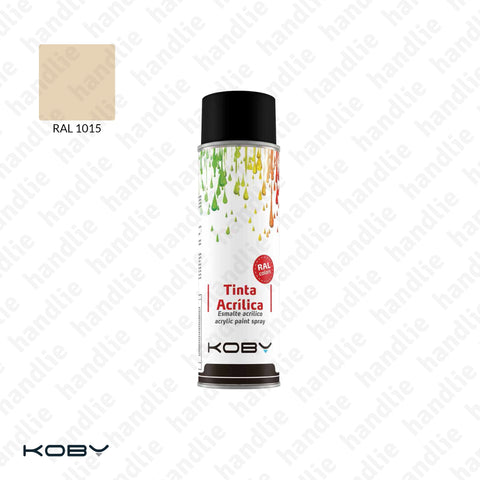ACRYLIC PAINT SPRAYS - Ivory RAL 1015