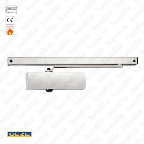 TS.1500G - Overhead door closer with guide rail - GEZE - 60Kg | GEZE
