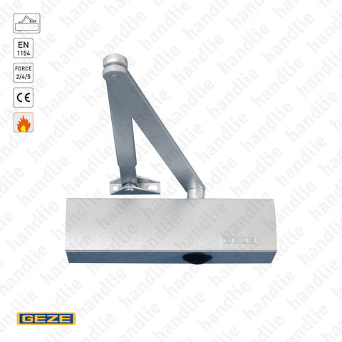 TS.2000V - Overhead door closer - GEZE -  Force 2/4/5 - 100Kg | GEZE