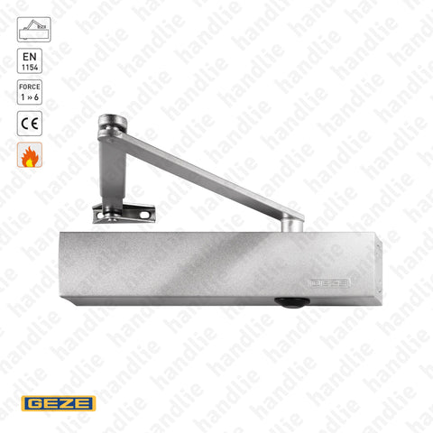TS.4000 - Overhead door closer - GEZE -  Force 1 » 6 / 120Kg | GEZE