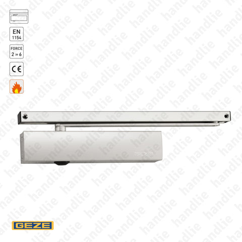 TS.5000 - Overhead door closer with guide rail - GEZE -  Force 2 » 6 - 120Kg | GEZE