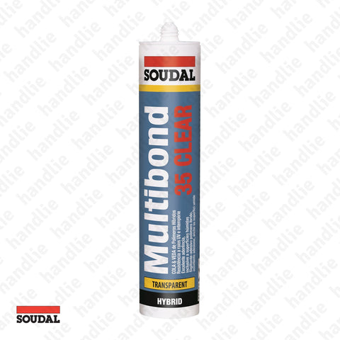 MULTIBOND 35 CLEAR - SOUDAL - Adhesive Sealant MSP
