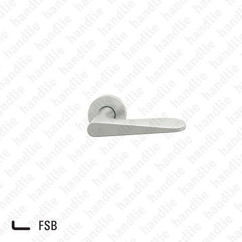 P.12.1144 - Jasper Morrison - Lever handle pair for doors