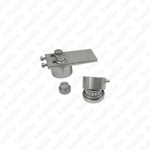 P.938.939 - Pivot kit - 500 kg - Stainless Steel