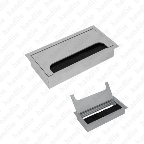 PC.365.150 - Aluminium cable tidy for tables