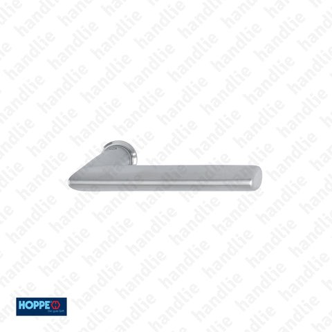 P.E1140Z.845  - Stockholm - Lever handle pair for doors - Stainless Steel