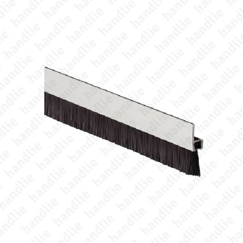 PEL.27 - Brush strip seal - Aluminium profile