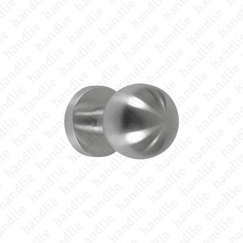 PF.IN.8004.B - Single fixed knob - Stainless Steel