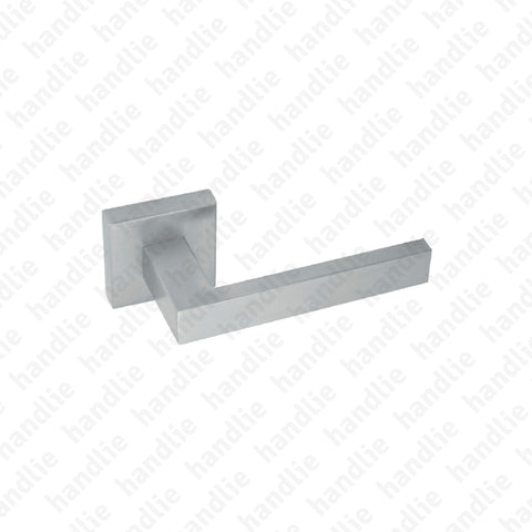 P.IN.8261 - Lever handle pair - Stainless Steel