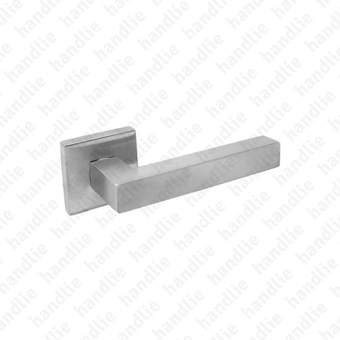 P.IN.8262 - Lever handle pair - Stainless Steel