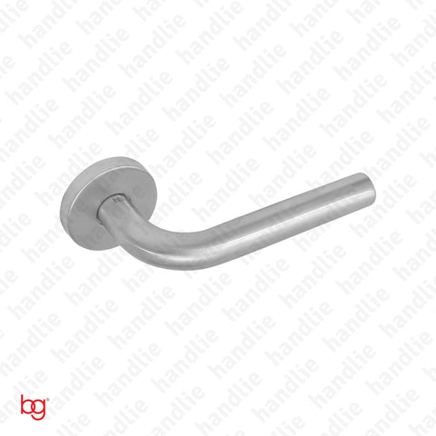 P.IN.98102 - Lever handle pair - Stainless Steel