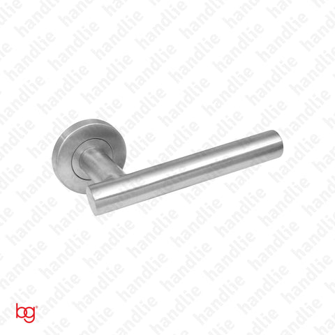 P.IN.98109 - Lever handle pair - Stainless Steel