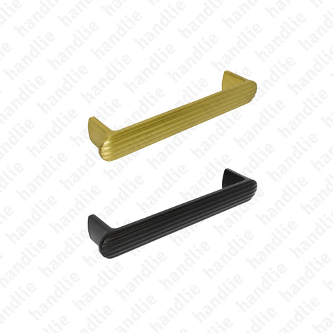PM.7618 | FLUTED - Furniture pull handle