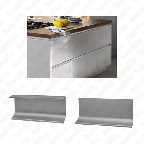 PM.9902 / PM.9903 - Aluminium mortise profiles for furniture