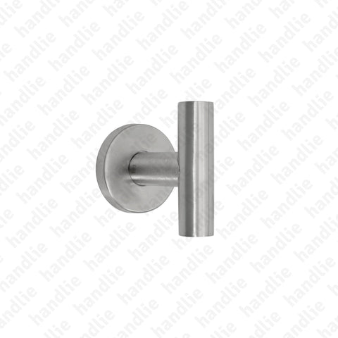 PR.IN.8805 - Single Turning Handle - Stainless Steel