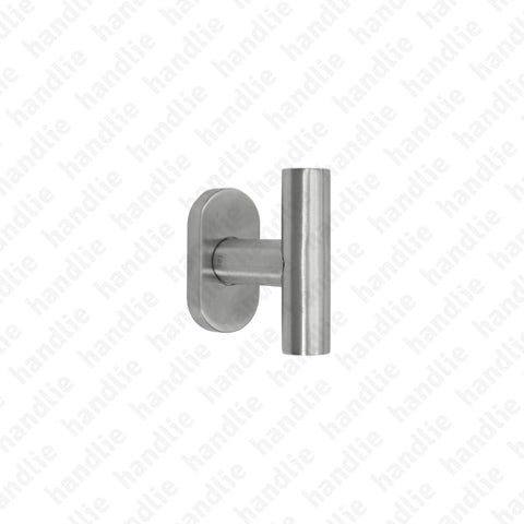 PR.IN.8806 - Single Turning Handle - Stainless Steel