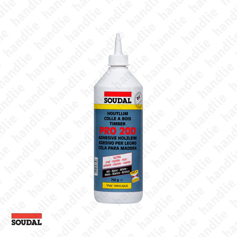 PRO.20D - SOUDAL - White adhesive for wood - D2