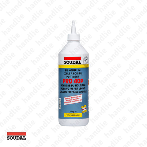 PRO.40.P - SOUDAL - Polyurethane adhesive for wood - D4