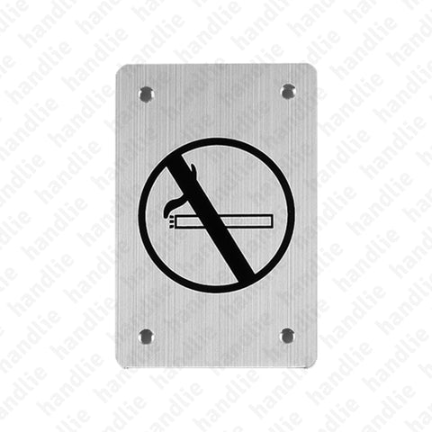 PS.IN.2163 - Sign - 150x100 - Stainless Steel