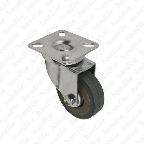 R.155 - Swivel castor - Ø50 / Ø75 - Grey