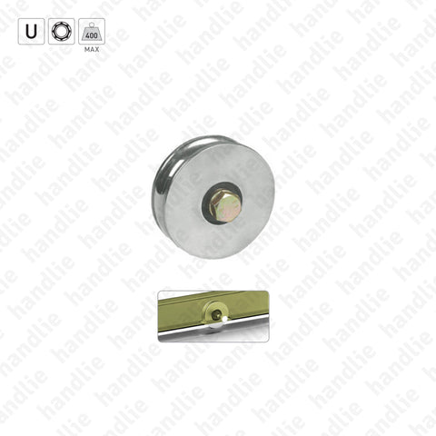 R.361 - U-Groove wheels / 1 bearing