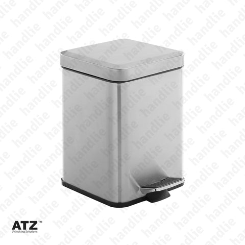 WC.6407 6400 Series - Bin - 6L - Stainless Steel