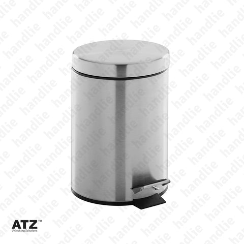 WC.6417 6400 Series - Bin - 5L - Stainless Steel