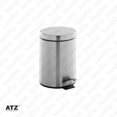 WC.6418 6400 Series - Bin - 3L - Stainless Steel