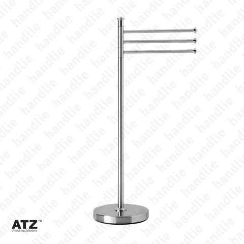WC.6600 6600 Series - Standing Towel Rail - Stainless Steel