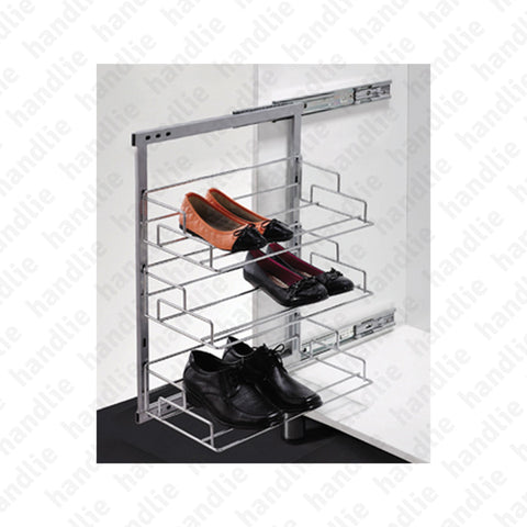 SAP.174012 - Extractable side shoe rack