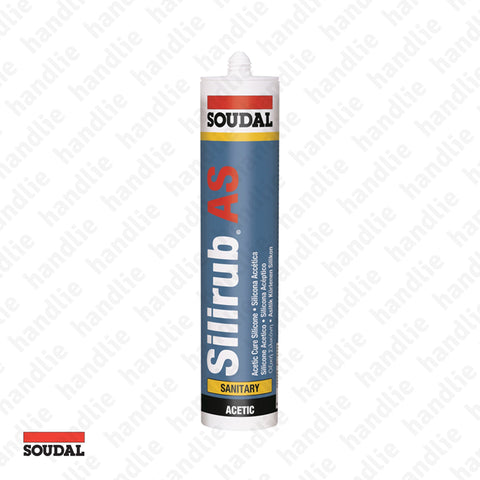 SILIRUB AS - SOUDAL - Silicone sealant - Acetic