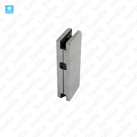 SIV.132 - Patch / Strike plate for lock - Glass doors