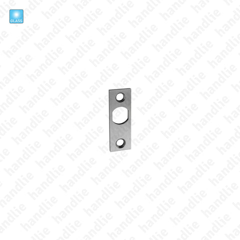 SIV.CT.131 - Strike plate for lock - Glass doors
