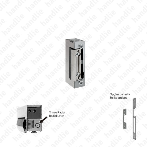 T.1440.R - Electric mortise latch - Radial