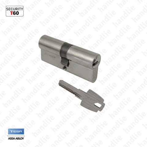 CIL.T655-T60 - Security euro cylinder T60 - Key / Key