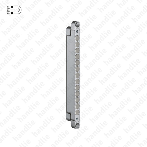 T.KC.50 / F.CT.KC.50G/50H - Magnetic latch / Strike plate - application in glass/wooden doors
