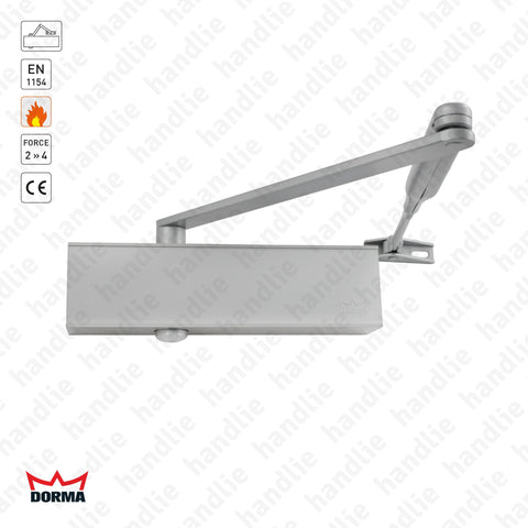 TS 73V - Overhead door closer with link arm - Intensive use - Force 2/4 - 80Kg