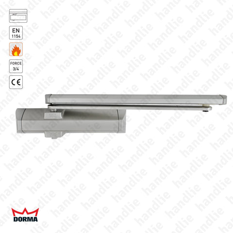 TS 90 - Overhead door closer with guide rail - Frequent use - Force 3/4 - 80Kg