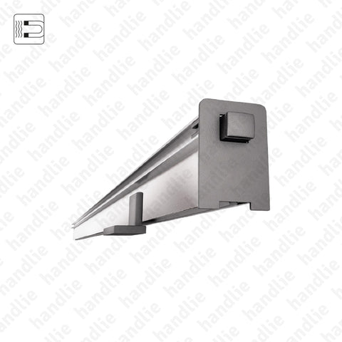 VP.2509 - Embedded door seal for wooden or metal sliding doors