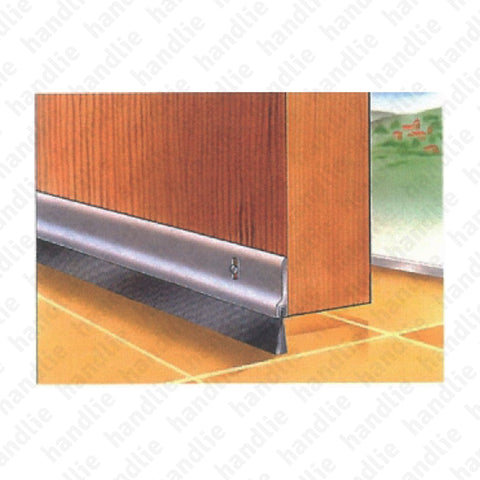 VP.STP - Surface mounted door seal for wooden and metal doors