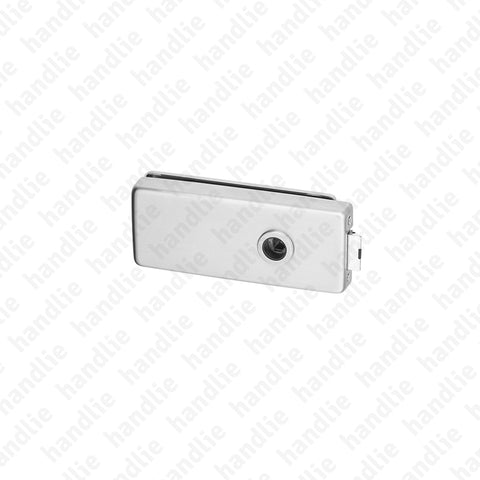 F.340V.1.00 - Passage lock for glass door - for Turning / Turning handles