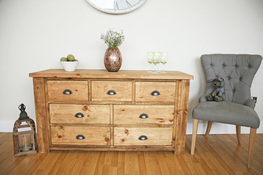 The Artisan Waxed Medium Multi-Drawer Chest