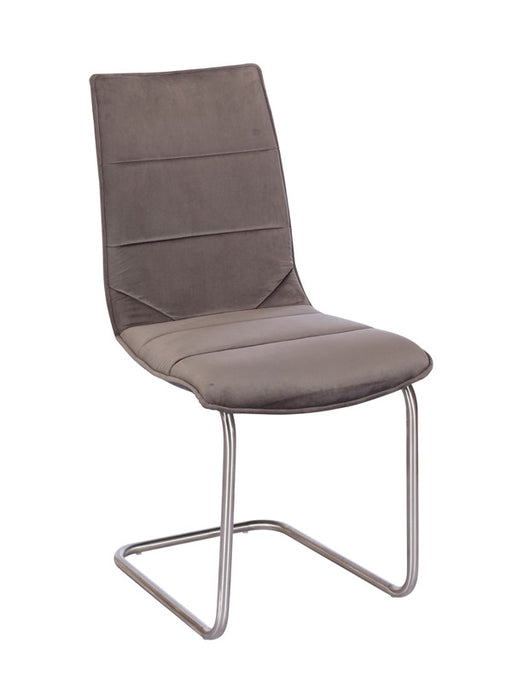 The Marta Grey Fabric Dining Chair