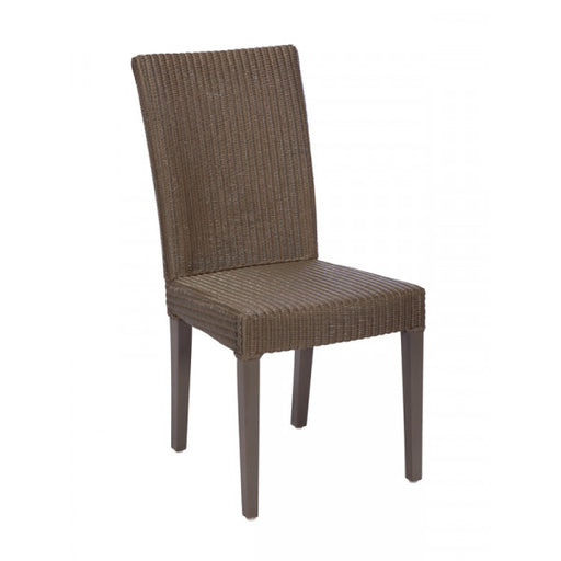 The Michaela Dark Grey Fabric Dining Chair