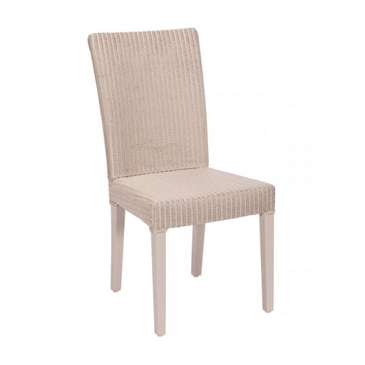 The Michaela Light Grey Fabric Dining Chair