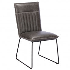 The Cooper Grey Dining Chair