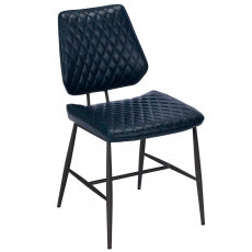 The Dalton Blue Dining Chair