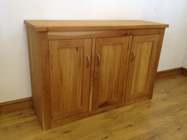 The Quercus Oak Three-Door Sideboard