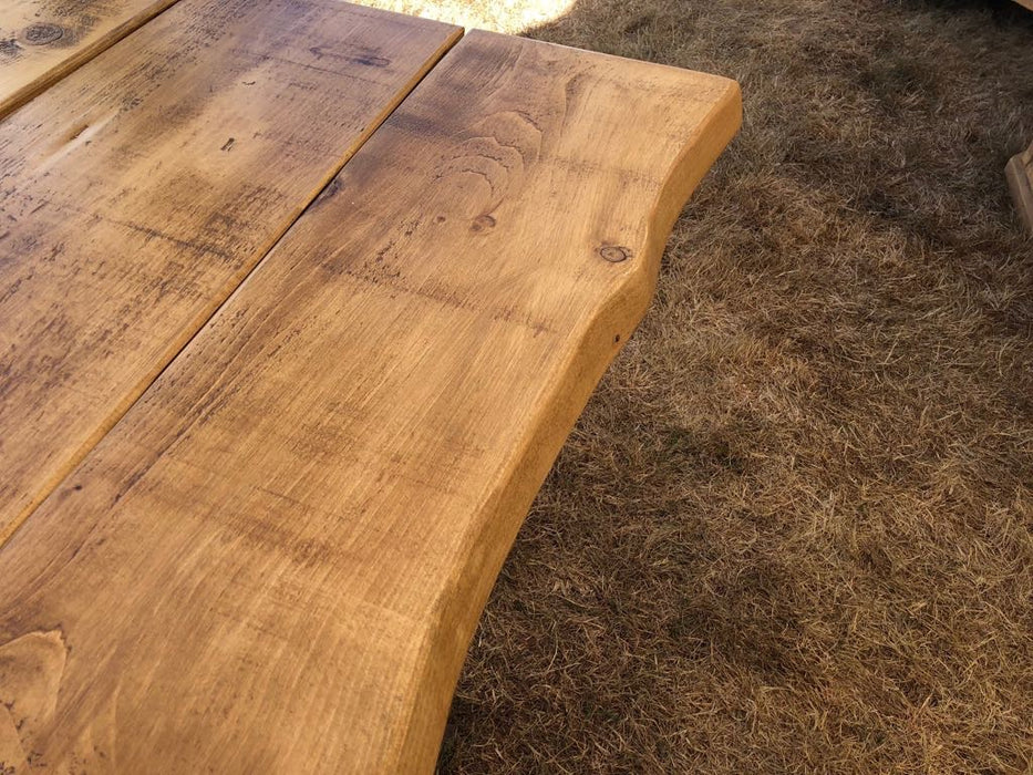 The Vulcan Living Edge Dining Table