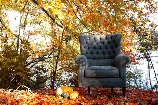 Harris Tweed Holker Armchair - FAST TRACK DELIVERY